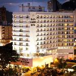 Faxada do Plaza Blumenau Hotel