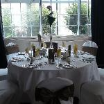  Wedding Breakfast Table Set Up - Adams Suite