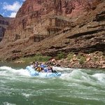 Interspersed rapids on the Colorado River make for a fun ride.