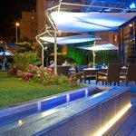 New terrace by night - Warwick Reine Astrid