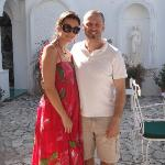 Antonio & Alessandra - owners of Il Portico