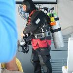  Diver Ed ready to go diving