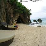 secluded part of Boracay