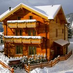 Chalet Balthazar in the snow