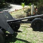 WWII Japanese 47mm anti-tank gun, two of them!