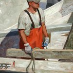 Paul Schulenburg Returning Fisherman Chatham