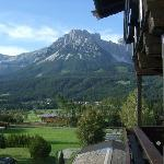 Wilder Kaiser mountains from balcony
