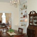 Dining room, continental breakfast served each morning