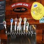 Sam's Tap Room at the Red Lodge Brewing company