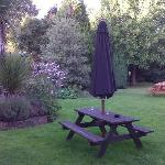 Quiet and pleasant little back garden