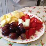  Fresh fruits was provided during breakfast everyday.