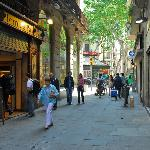 Barcelona Accommodation surroundings areas