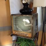 tv in breakfast area on top floor