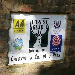 Forest Glade entrance sign
