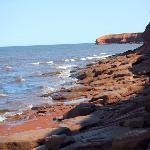 Coastline along PEI National Park