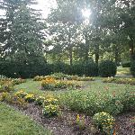  Flower garden, grounds of Morven Park