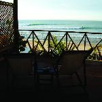 Las Olas in Mancora, Peru. This is the view of Mancora point, from the OCEANFRONT rooms.