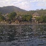  View of hotel from fishing boat