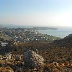 View of Kolymbia from Mount Tsambika