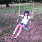 Highlight of the weekend? My daughter LOVED the swing!