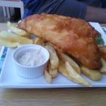  Fish and Chips, Mushy Peas Tartar sauce