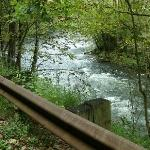 View of the Nantahala River, 30 minute drive from hotel on Hwy 74 West