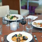 Fresh cuisine and local California wine from 'Atrio restaurant