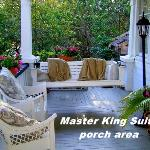  Master King Suite porch area