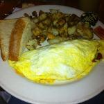 Denver omelet with sourdough toast!