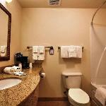 Upgraded Bathrooms with Granite Countertops