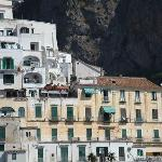 Holiday Baia Amalfi visto dal mare