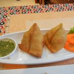 Try their chicken samosa ... It's the best tasting samosa I've ever eaten.
