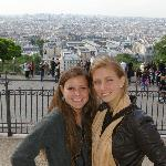 View of Paris from Sacre Coeur!