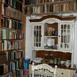  the only wall in the dining room not completely covered with books :)