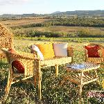  Area relax con vista sulle colline