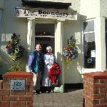 Jacqueline and Volkmar In front of Boundary