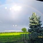  View of Rainbow from &#39;Dove Cottage&#39; window