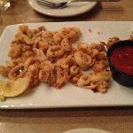 This is the calamari.  We'd eaten part of it before I remembered to take a picture.