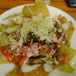 A great take in Nachos :) healthy ingredients + grilled beef