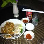  Room service cost 80 baht including drink August 2012