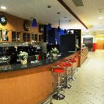 Holiday Inn Express Krakow - bar in the lobby