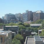 View from our Room over Penn campus
