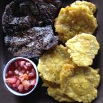 Churrasco with patacones