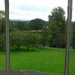 Room view over the gardens