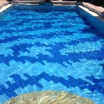 The pool nearest my room. It was ok, but I was shocked to find a really flash one hidden away.