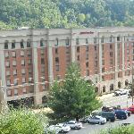 Hotel from UPike campus