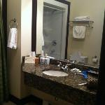  Our big bathroom.