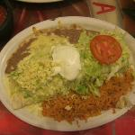 Burrito Frontera - very good and enough for three meals