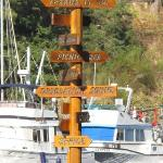  Sign Post at Marina