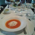 Tomato soup. Wonderful!